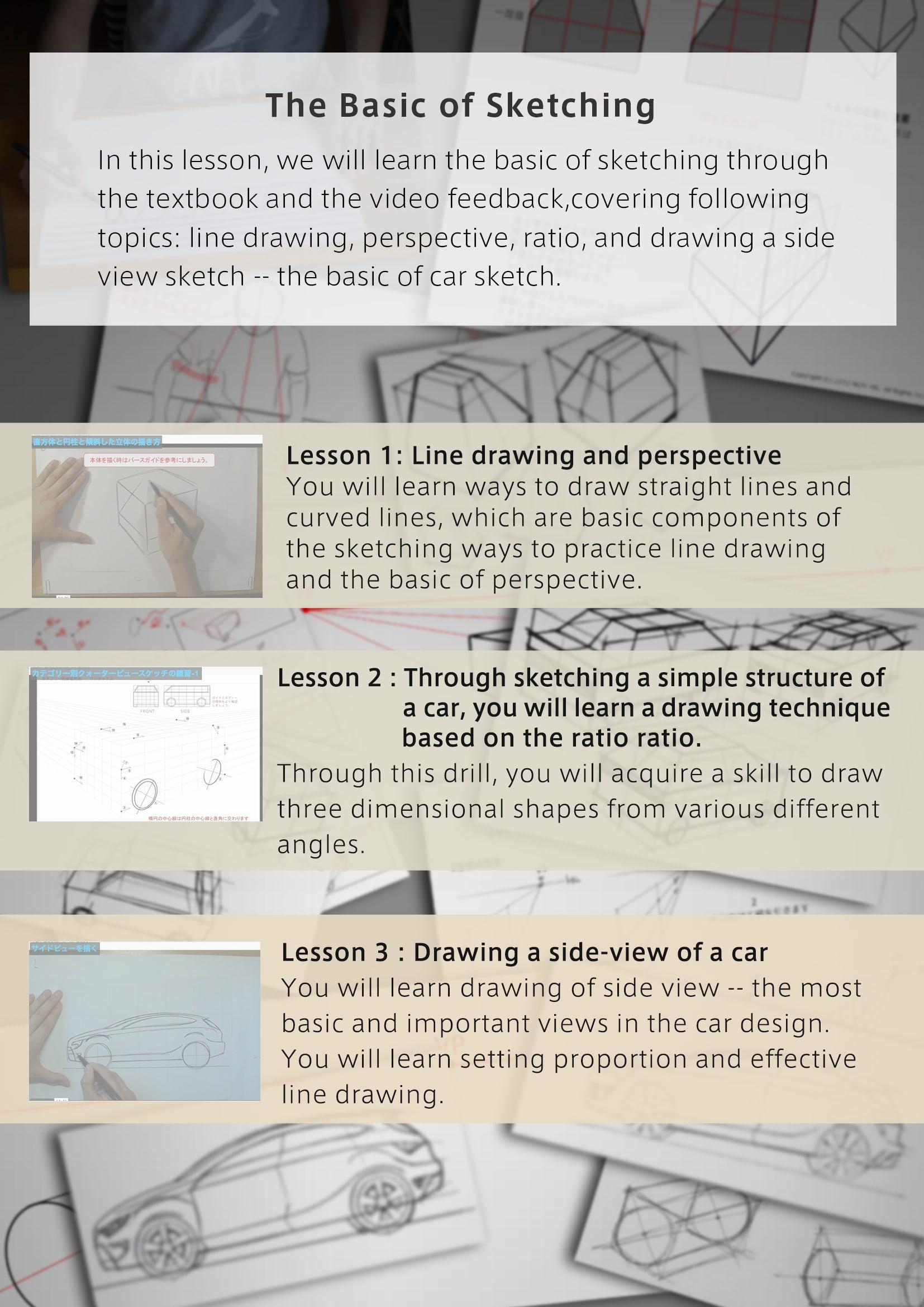 Acquiring Necessary Sketch Skills For Car Designing Basics