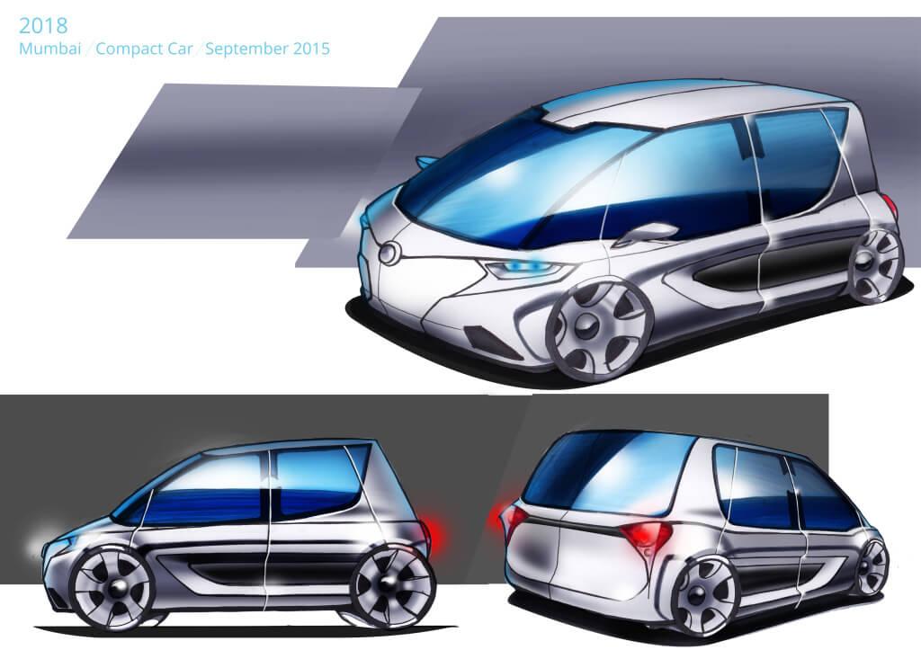 Presentation Board - Mumbai Compact Car