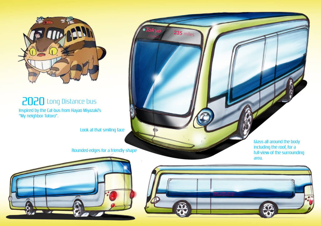 Presentation Page - Cat Bus